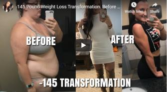 VIDEO – Transformare uluitoare – A reusit sa slabeasca in timp record